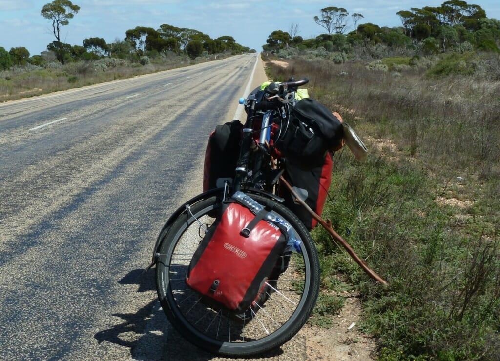 Bike by road