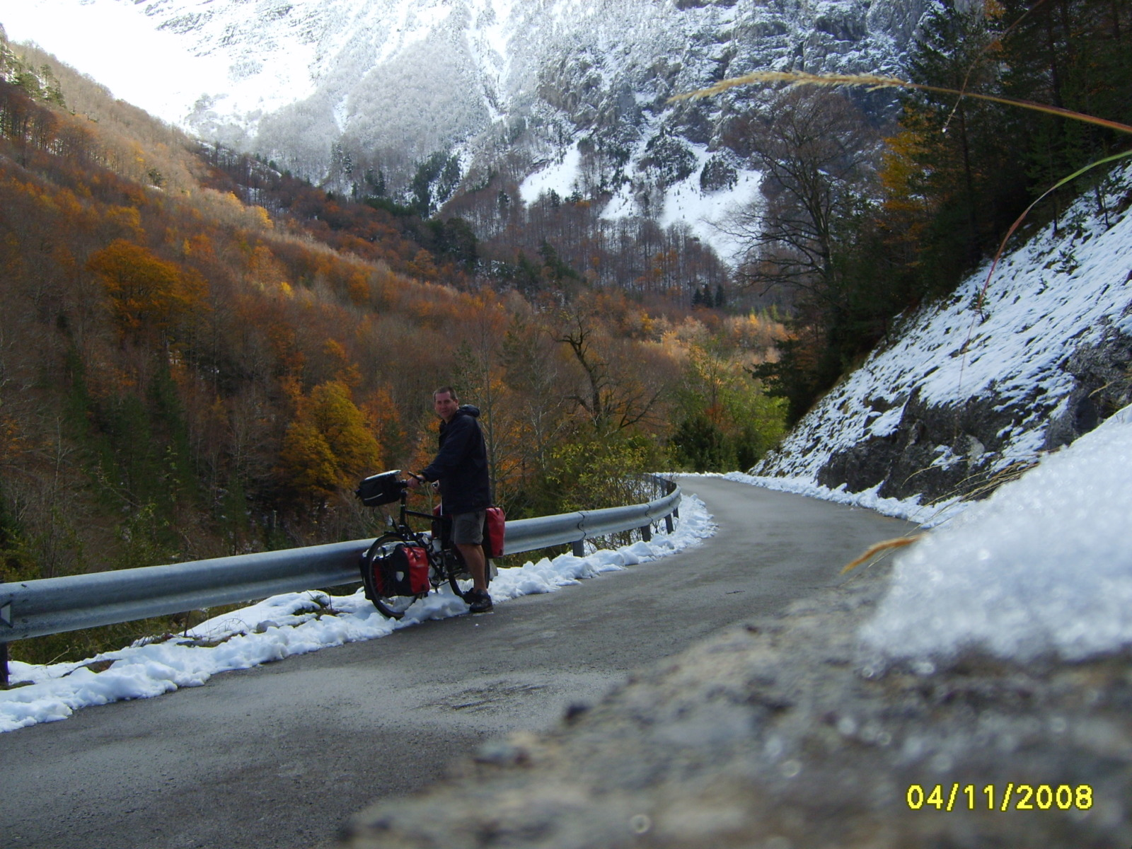 Garry in the Pyrenees in 2008