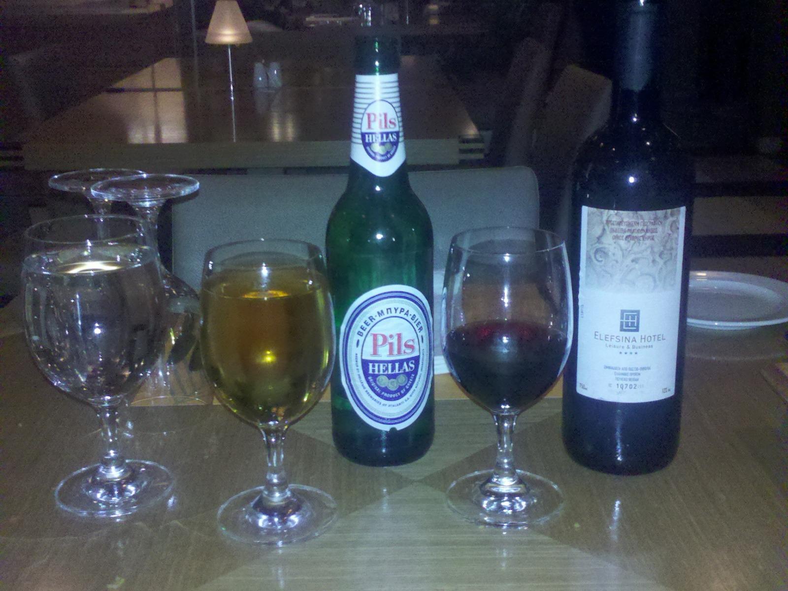 Drinks choice