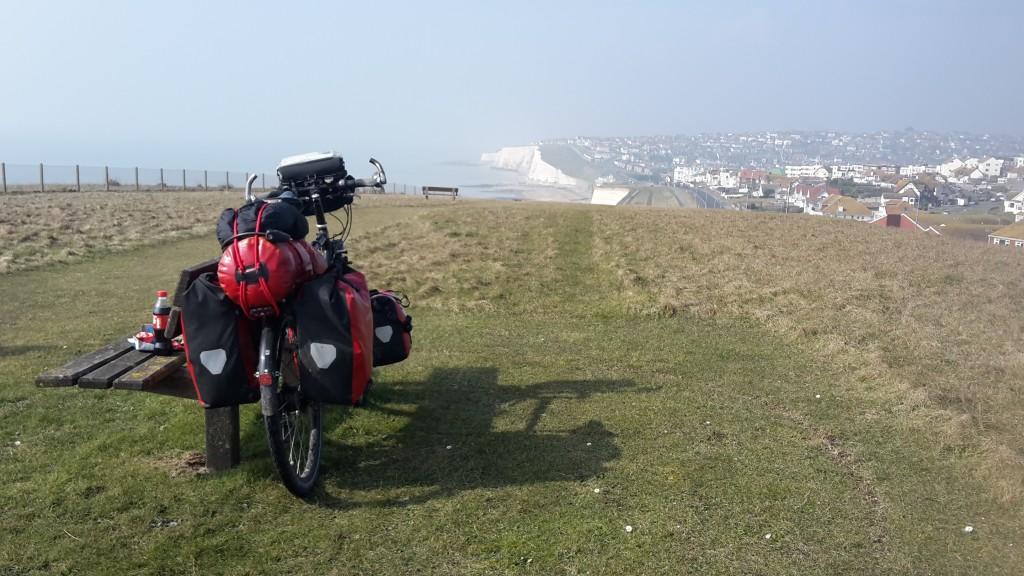 Looking along the south coast towards Rottingdean