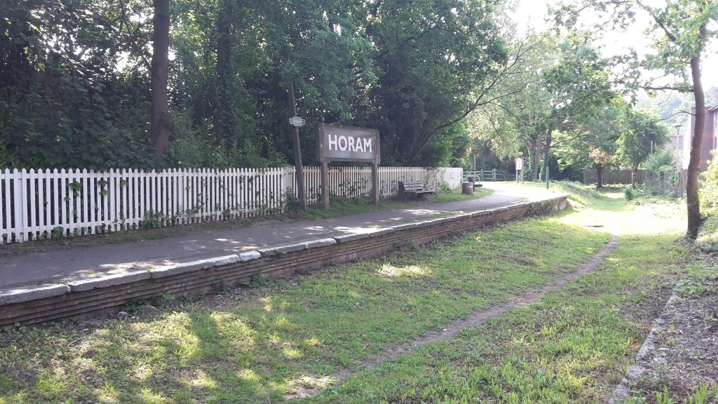 Horam railway station