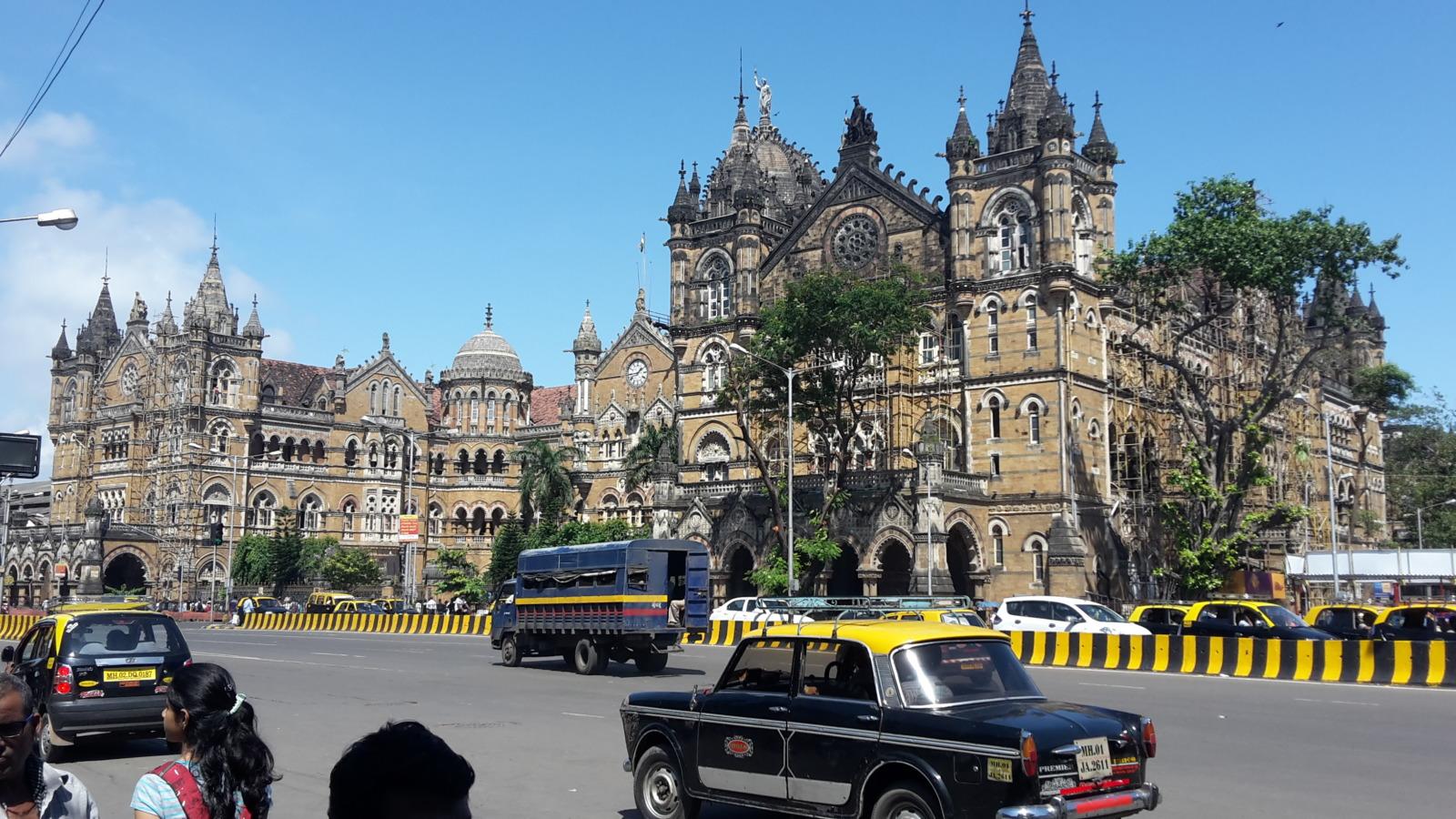 Chatropati Shivaji railway station in Mumbai