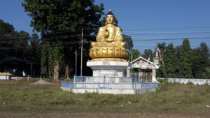 Buddha along the road.
