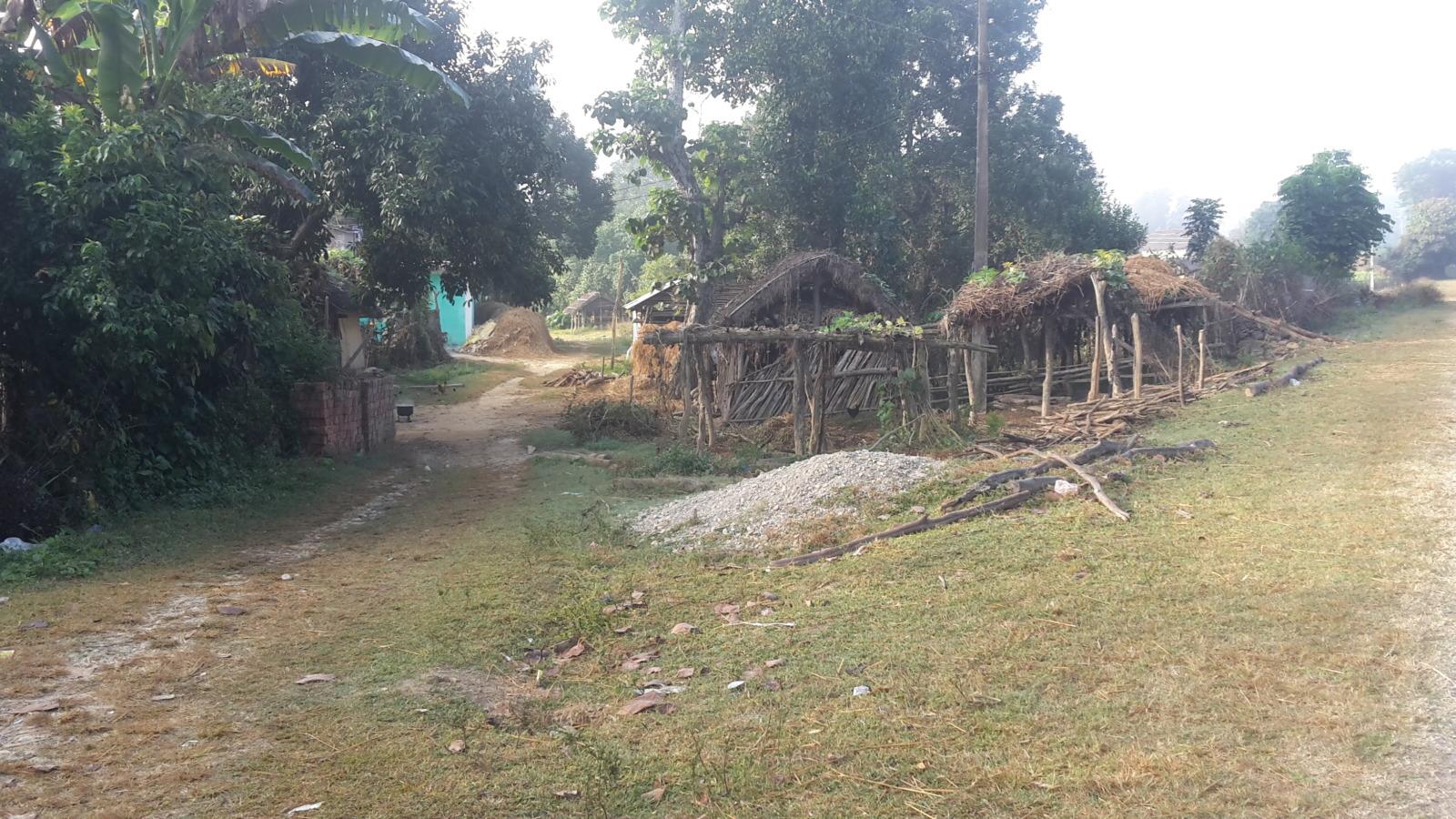 Nepalese mud hut