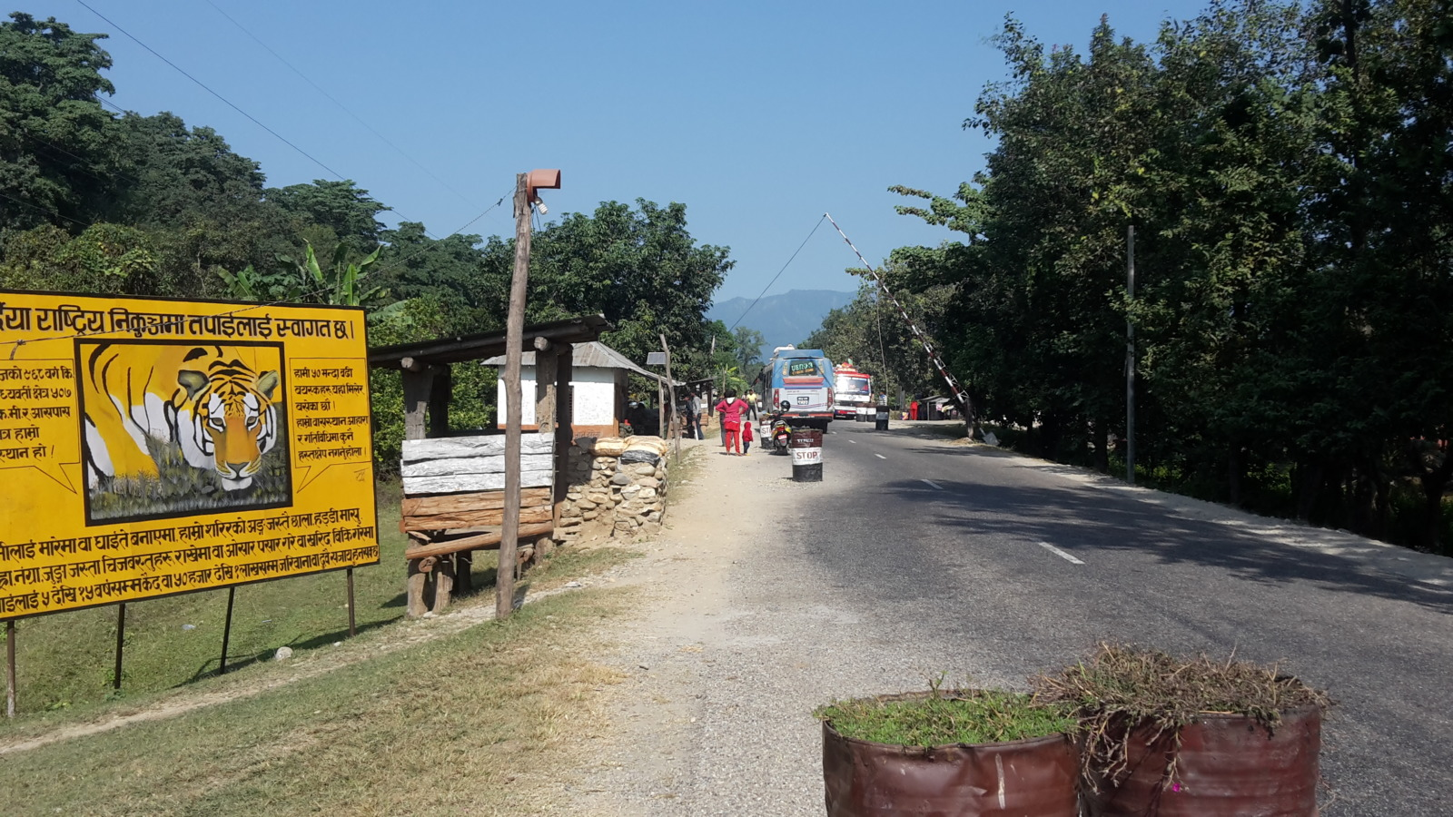 Checkpoint in Nepal