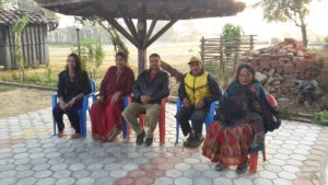 People from the Hotel Garry stopped at in Ghodaghodi