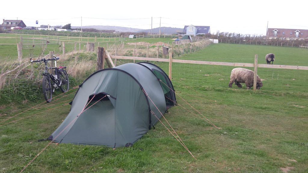 Hilleberg Nammatj 2 GT on the Grange farm campsite