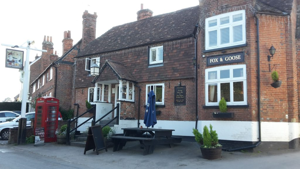 The Fox and Goose at Greywell