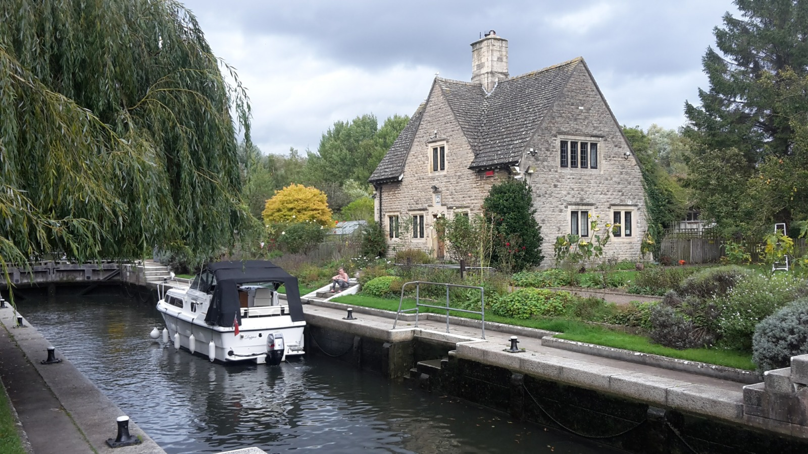 Iffley lock Oxford