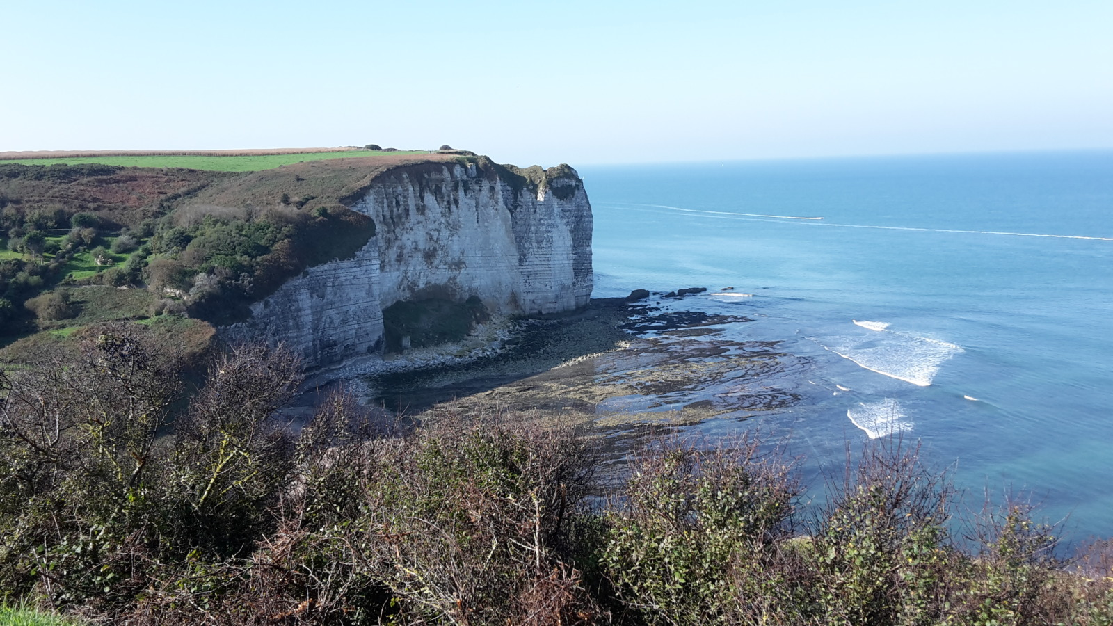 Cliffs near Yport
