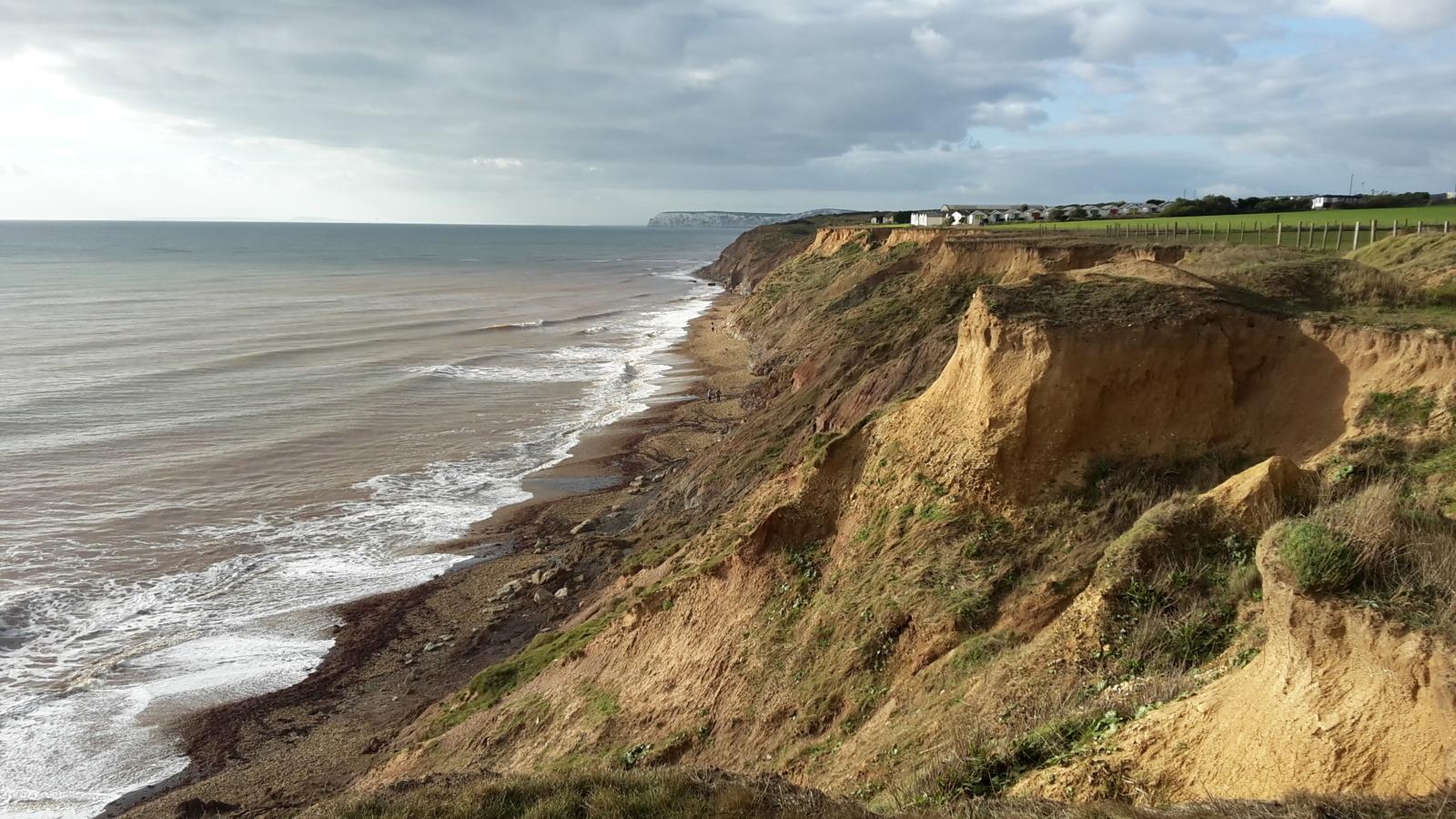 Brighstone cliffs