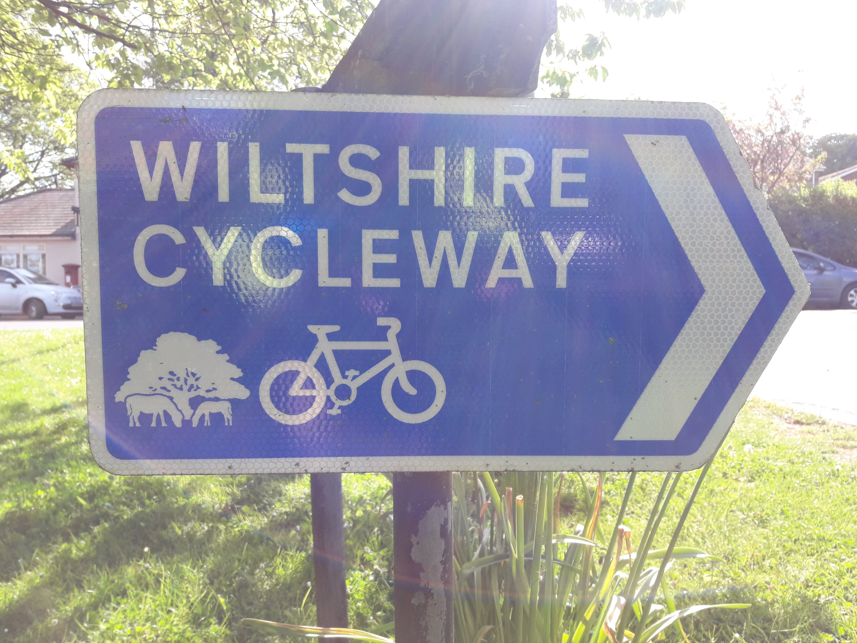 Cycleway signs