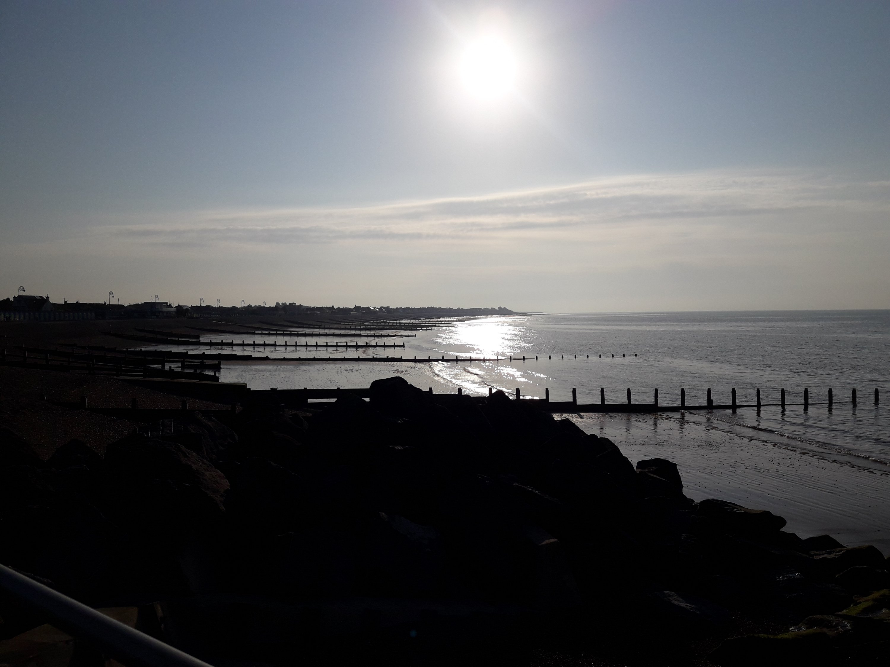 Seafront early in the morning