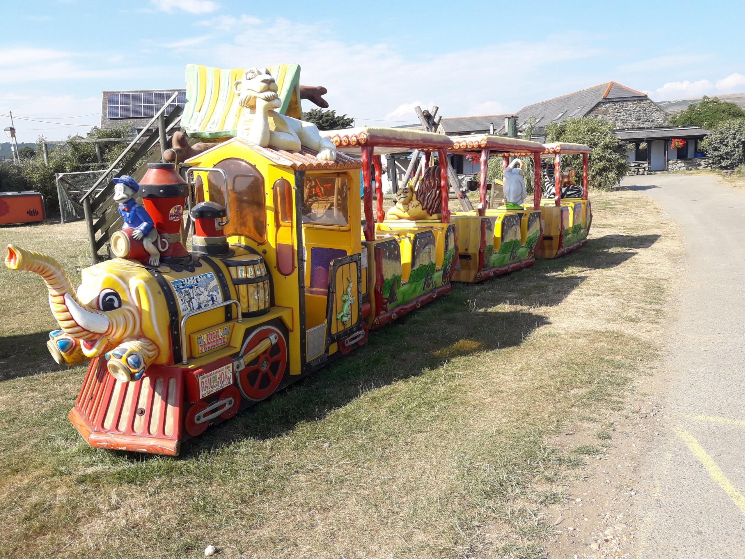 Kiddie train