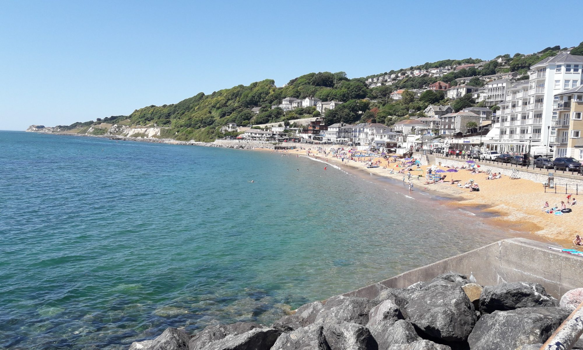 Seafront at Ventnor