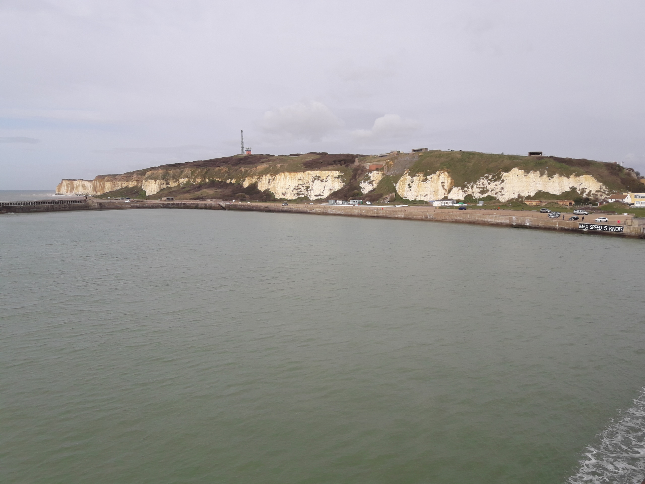 Sea and white cliffs