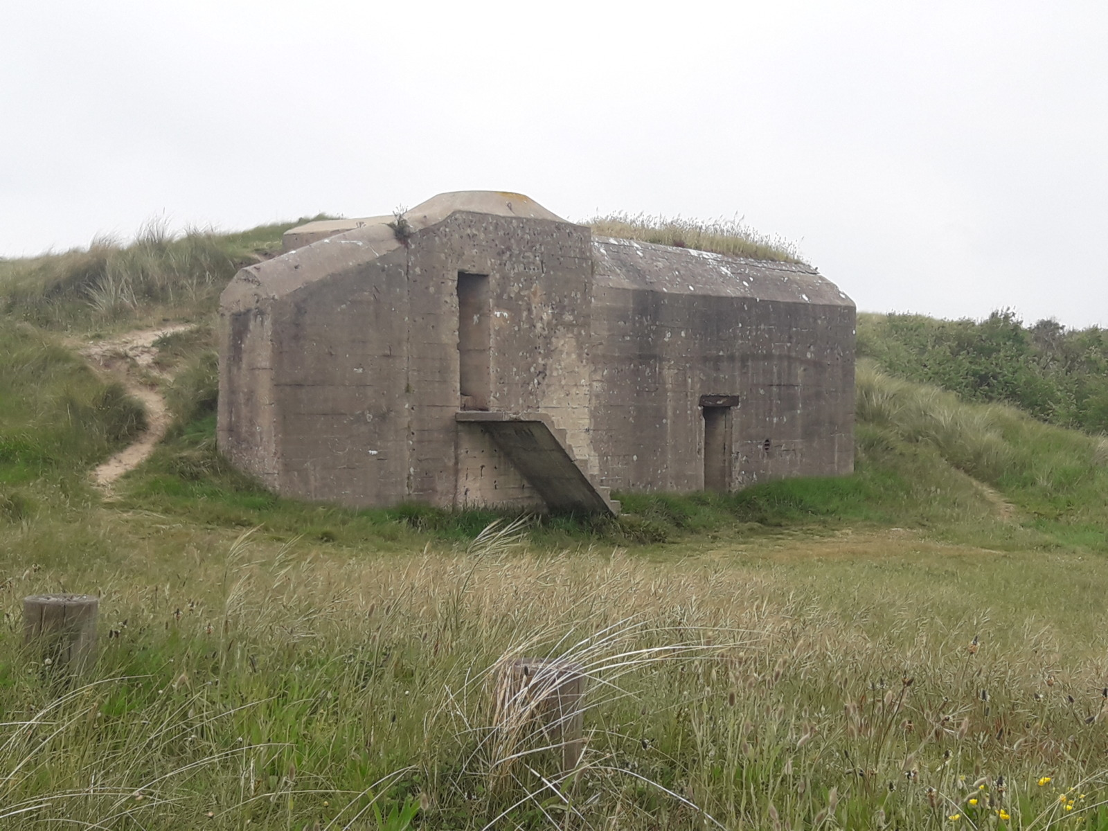 Old world war 2 bunker
