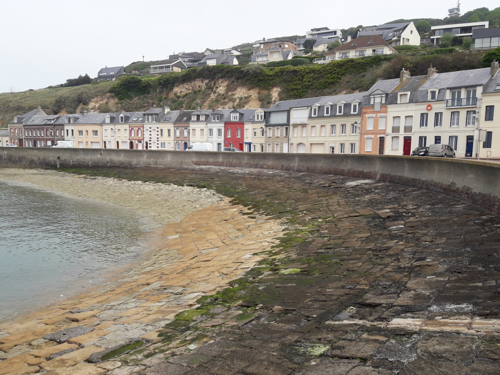 Cottages and beach