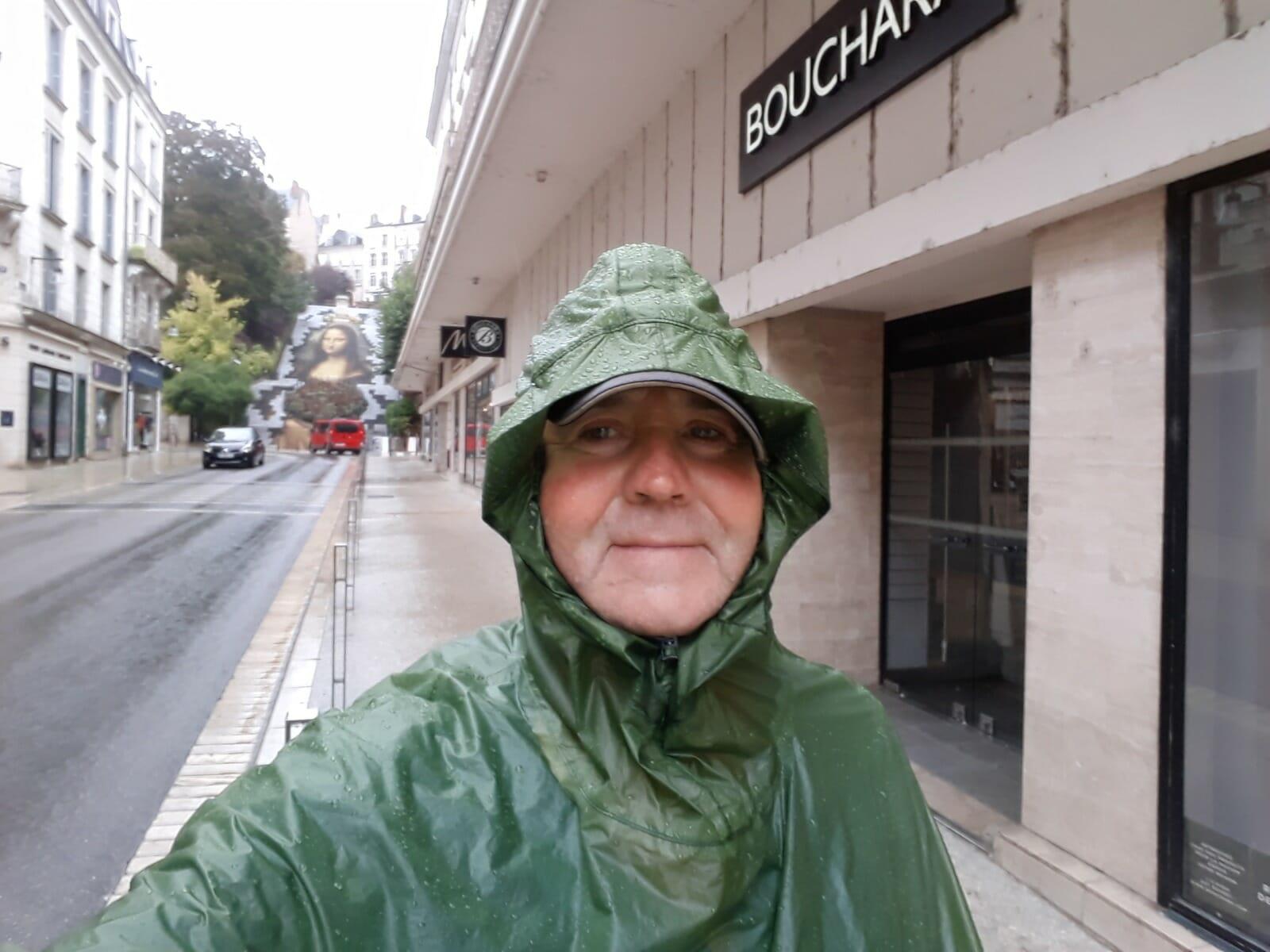 Man in waterproofs
