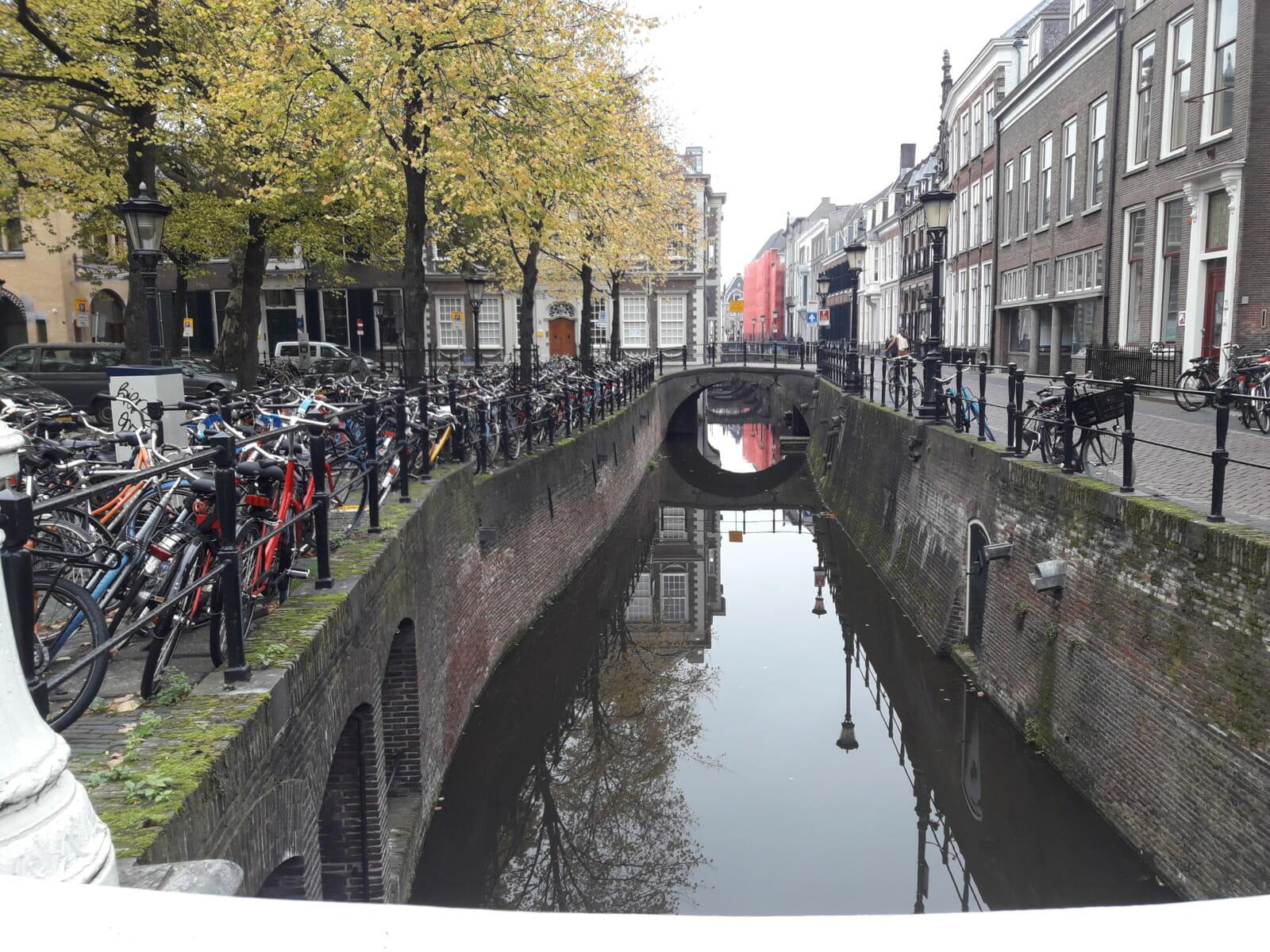 Water bikes bridge
