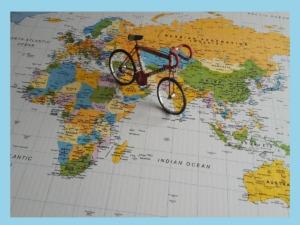 Bike on map