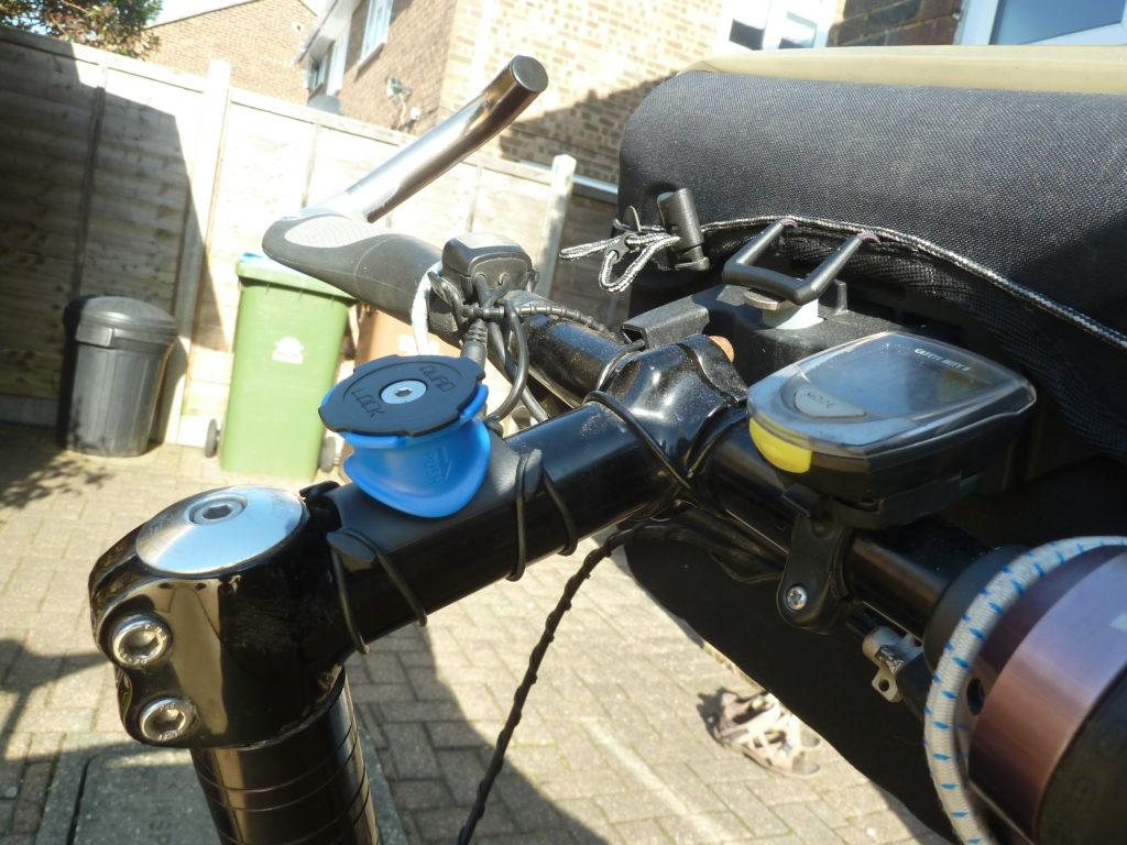 Quad Lock stem bar mount