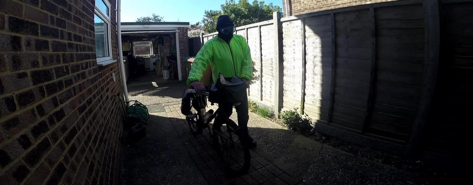 Man bike