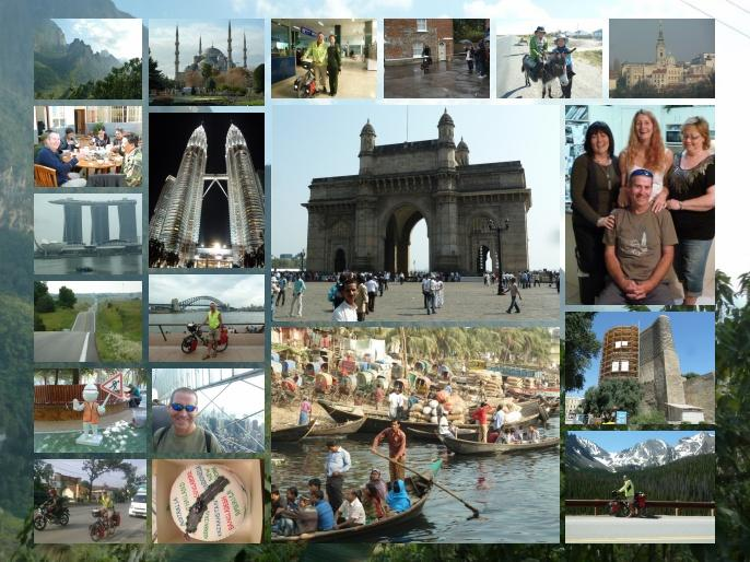 World tour collage