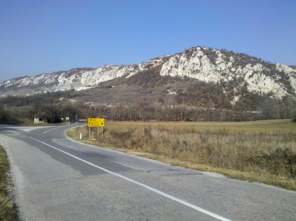 Hills in Serbia