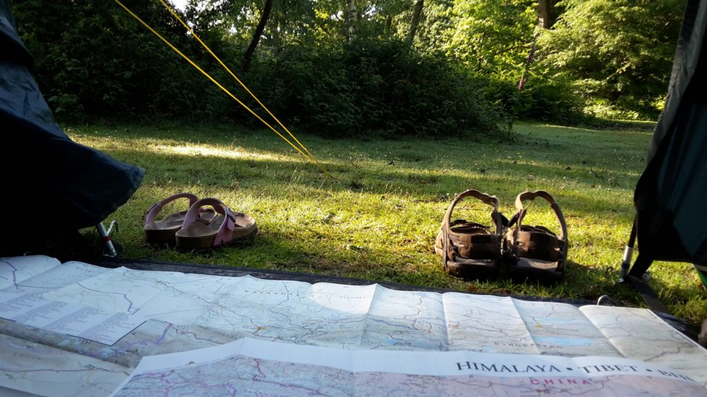 Camping and route planning