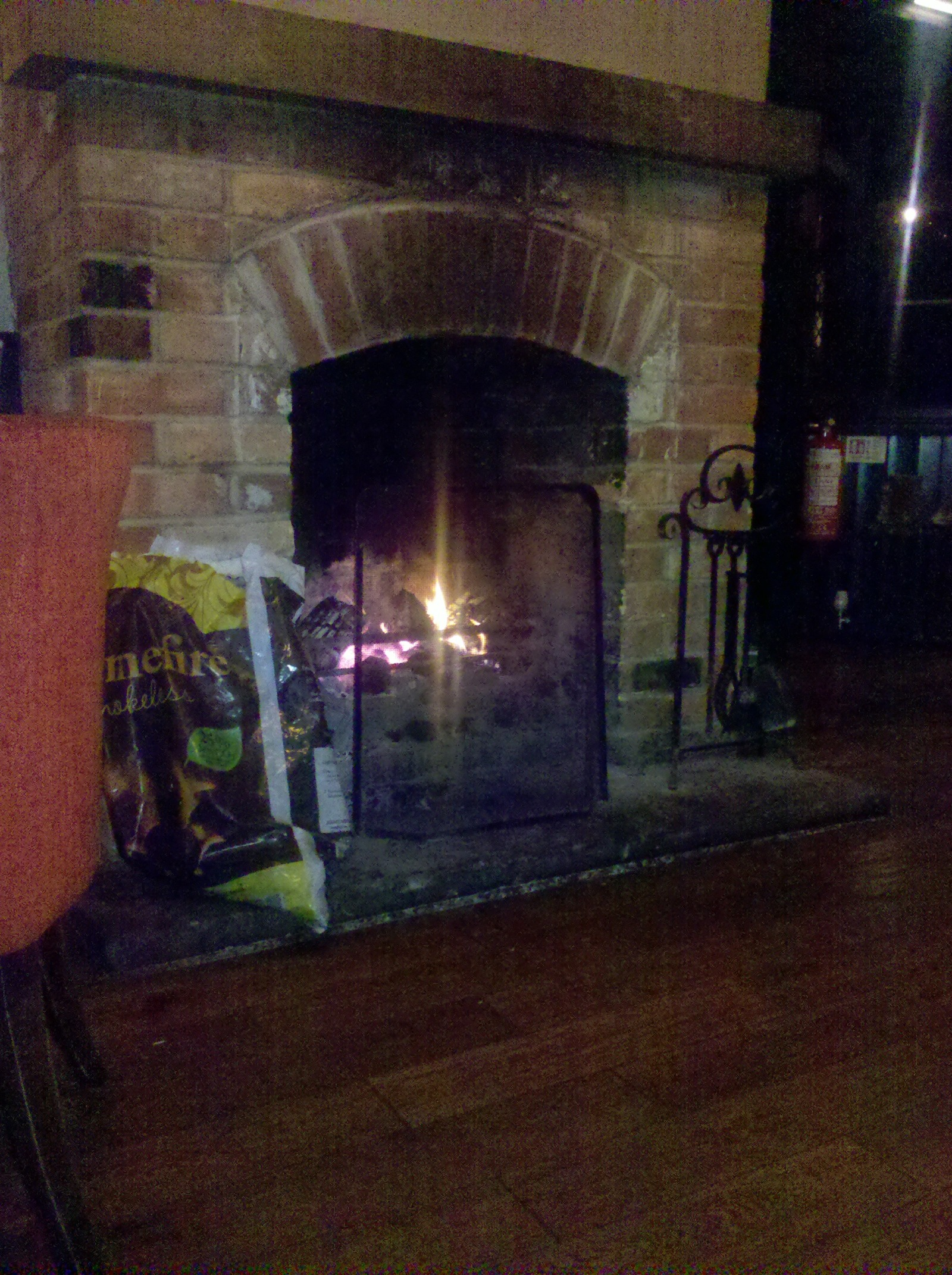 Cosy fire