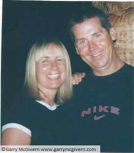 Garry McGivern and his wife Josie