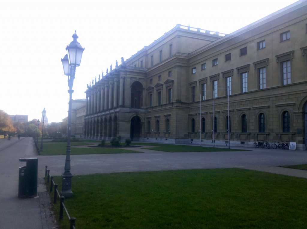 Parliament building in Munich, Germany