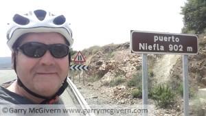 Garry McGivern on top of  Niefla