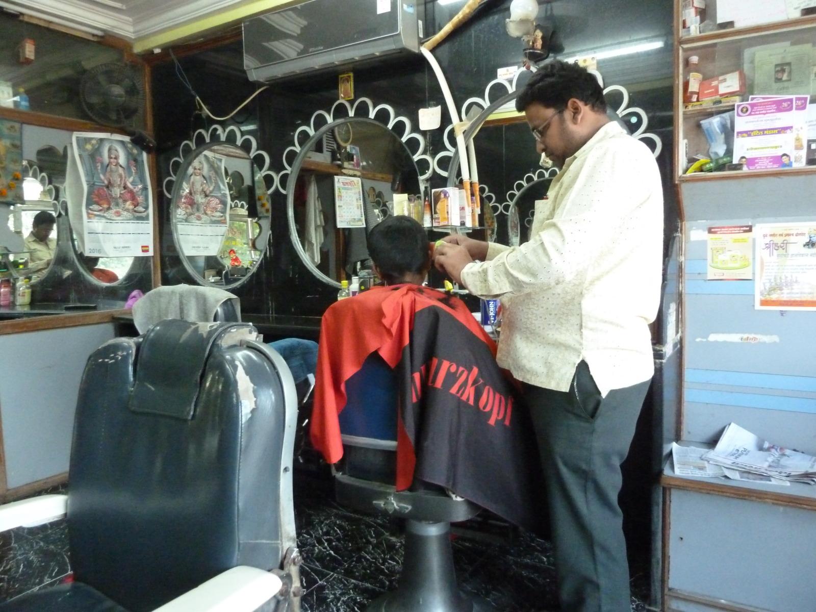 Indian barber