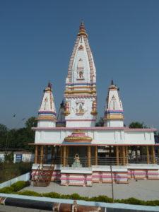 Temple along the road at Dhadha Bujurg Uttar Pradesh