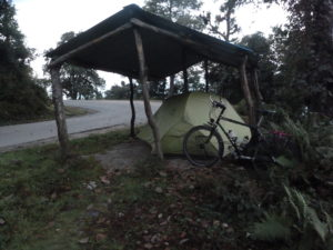 Camping out on the Tribhuvan Highway