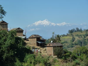 Stunning views all the way down the Tribhuvan Highway