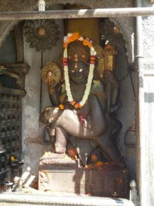 Hanuman statue Nasel Chowk Durbar Square Kathmandu