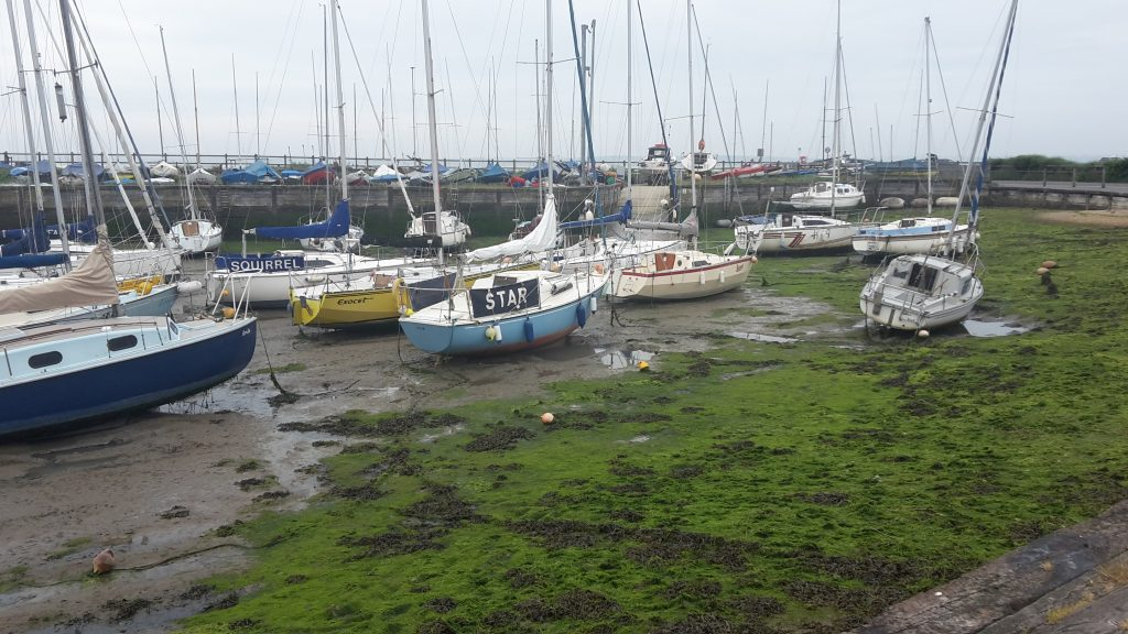 Harbour at Titchfield Marsh