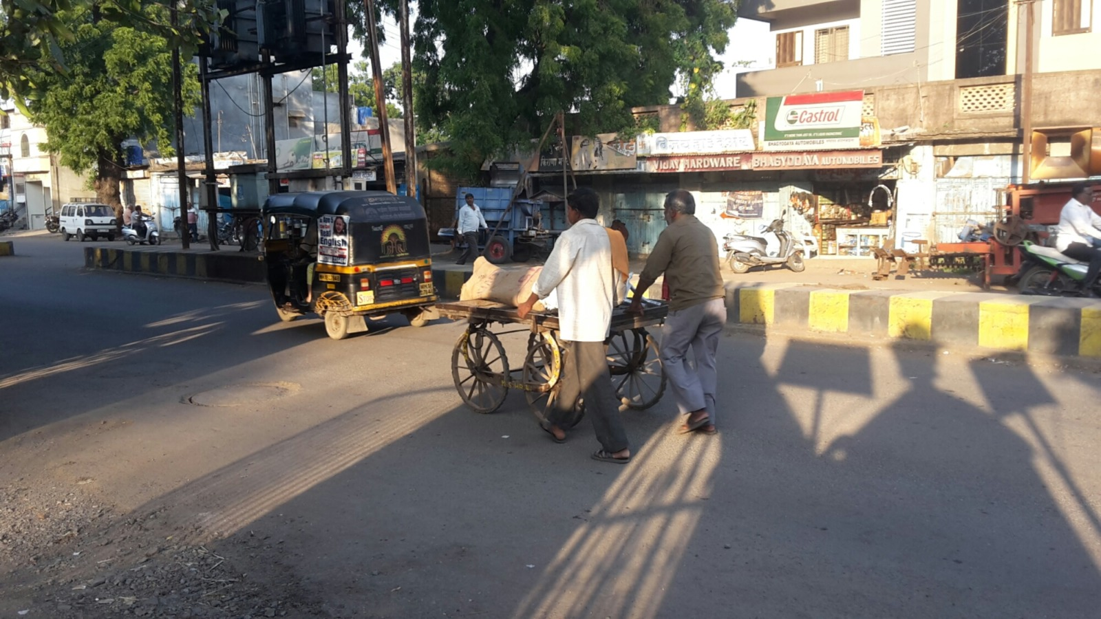 Indian street view